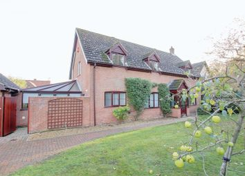 Thumbnail 4 bed property for sale in Priory Close, Hethersett, Norwich