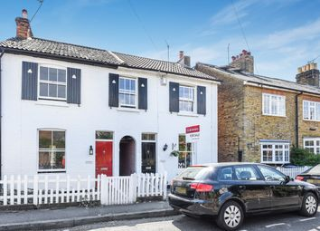 Thumbnail 2 bed semi-detached house for sale in South Road, Weybridge