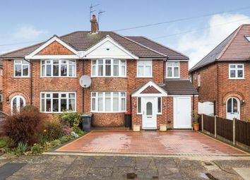 Thumbnail 5 bed semi-detached house for sale in Grasmere Road, Beeston, Nottingham, Nottinghamshire