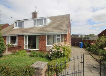 Thumbnail 3 bed semi-detached bungalow for sale in Ruskin Crescent, Abram, Wigan