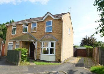 Thumbnail 3 bed semi-detached house to rent in Milton Court, Kettering