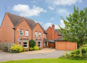 Thumbnail 4 bed detached house for sale in Hazel Close, Uppingham, Oakham