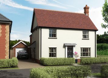 Thumbnail 3 bed detached house for sale in Cemetery Road, Wickhambrook, Newmarket
