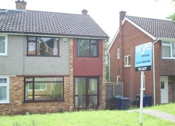 Thumbnail 3 bed semi-detached house to rent in Fulton Close, High Wycombe