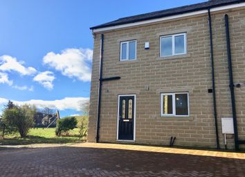 Thumbnail 3 bed semi-detached house for sale in Riverwood Close, Mixenden, Halifax