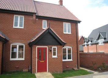 Thumbnail 2 bed property to rent in Proudfoot Way, Aylsham, Norfolk