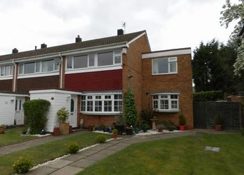 Thumbnail 4 bed end terrace house for sale in Warmley Close, Solihull, West Midlands, England