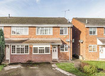 Thumbnail 3 bed semi-detached house for sale in Lenham Close, Winnersh, Berkshire