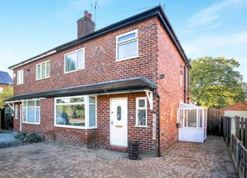 Thumbnail 3 bed semi-detached house for sale in Barlow Road, Wilmslow, Cheshire, .