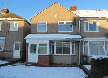 Thumbnail 3 bedroom terraced house for sale in Standard Avenue, Coventry