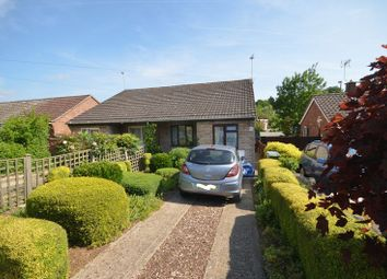 Thumbnail 2 bedroom semi-detached bungalow for sale in Elizabeth Avenue, Thorpe St. Andrew, Norwich