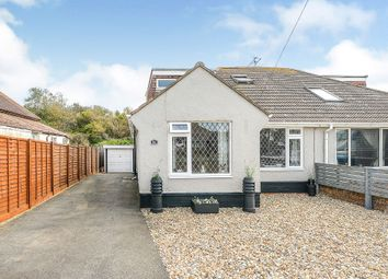 Central Avenue, Telscombe Cliffs, Peacehaven BN10. 3 bed semi-detached bungalow
