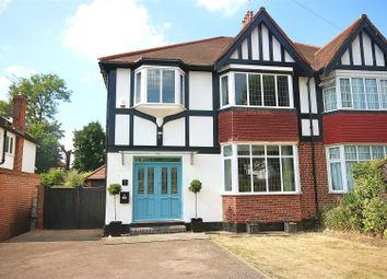 Thumbnail 4 bed semi-detached house for sale in Heddon Court Avenue, Cockfosters, Barnet