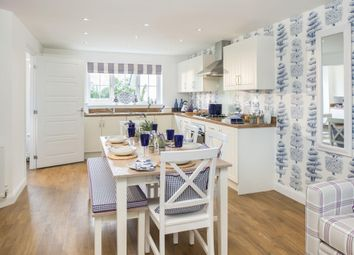 "Thumbnail 4 bed detached house for sale in ""Thornbury 1"" at Hill Top, Fremington, Barnstaple"