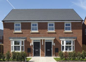 "Thumbnail 3 bed end terrace house for sale in ""Washford"" at Snowley Park, Whittlesey, Peterborough"