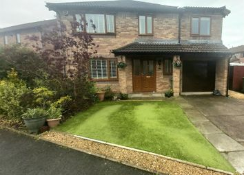 Thumbnail 4 bed detached house for sale in Grafton Drive, Cross Inn, Pontyclun