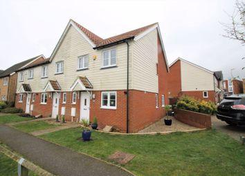 3 bed end terrace house for sale in Wicker Walk, Hawkinge, Folkestone CT18