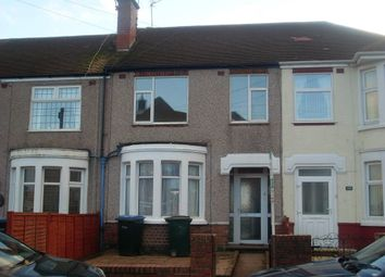 Thumbnail 3 bed terraced house to rent in Rollason Road, Radford, Coventry