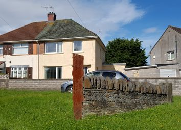 Thumbnail 3 bed semi-detached house for sale in Heol Degwm, North Cornelly