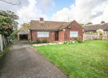 Thumbnail 3 bed detached bungalow for sale in School Road, Saxon Street, Newmarket