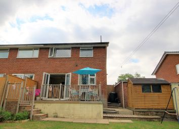 Thumbnail 3 bedroom semi-detached house for sale in Verity Crescent, Poole