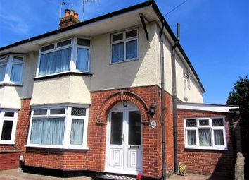 Thumbnail 4 bed semi-detached house for sale in Brookside Avenue, Southampton, Hampshire