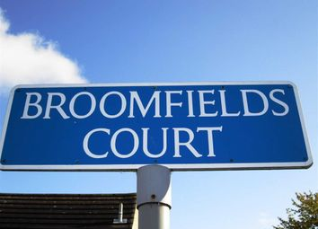 Thumbnail 2 bed flat for sale in Broomfields Court, Basildon, Essex