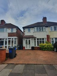 Thumbnail 3 bed semi-detached house to rent in Turnberry Road, Birmingham
