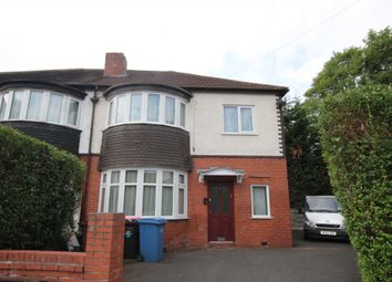 Thumbnail 4 bed semi-detached house to rent in Broom Avenue, Salford