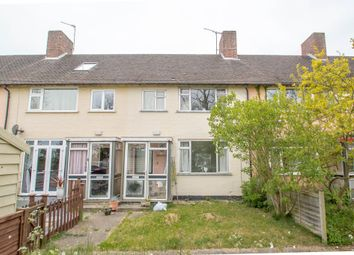 Thumbnail 3 bedroom terraced house for sale in Hawthorne Way, Stradishall, Newmarket