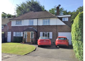 Thumbnail 4 bed detached house for sale in Blacketts Wood Drive, Chorleywood
