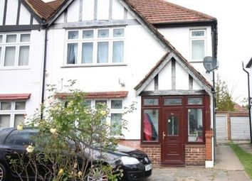 Thumbnail 3 bed semi-detached house for sale in Carlton Avenue West, Wembley, Middlesex