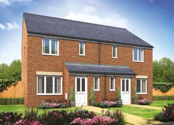 "Thumbnail 3 bed semi-detached house for sale in ""The Hanbury"" at Oakdale, Blackwood"