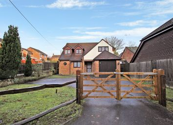 Thumbnail 4 bed detached house to rent in Liphook Road, Whitehill, Bordon