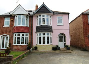 Thumbnail 3 bedroom semi-detached house for sale in Station Road, Drayton, Portsmouth