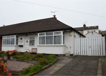 Thumbnail 2 bed semi-detached bungalow for sale in Laurel Avenue, Heswall