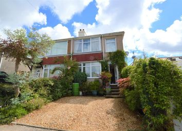Thumbnail 3 bed semi-detached house for sale in Lansdowne Road, Plymouth, Devon