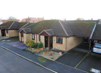 Thumbnail 2 bed semi-detached bungalow for sale in Willoughby Close, Corby Glen, Grantham