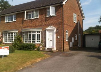 Thumbnail 3 bed semi-detached house to rent in Kingsdale Close, Battle