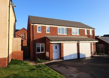 Thumbnail 3 bed semi-detached house for sale in Brimstone Way, Speckled Wood, Carlisle