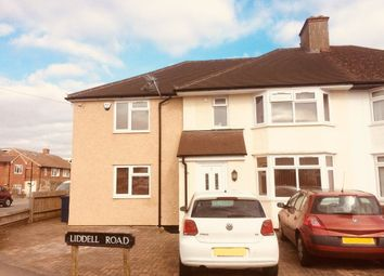 Thumbnail 1 bedroom property to rent in Liddell Road, Cowley, Oxford