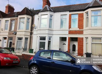 Thumbnail 5 bed terraced house for sale in Dogfield Street, Roath, Cardiff