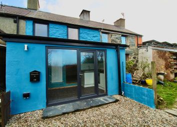 Thumbnail 1 bed terraced house for sale in Bryn Teg Terrace, Rhiwlas, Bangor
