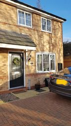 Thumbnail 2 bed semi-detached house for sale in Cowley Meadow Way, Crick