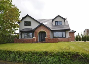 Thumbnail 5 bed detached house for sale in Town Lane, Much Hoole, Preston
