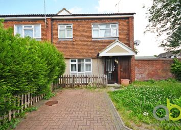 Thumbnail 3 bed end terrace house for sale in Harlech Close, Pitsea, Basildon