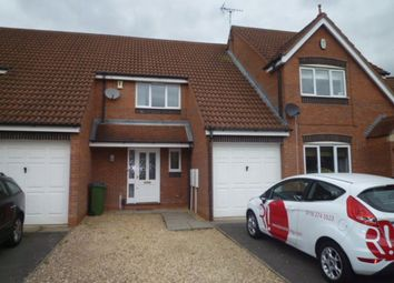 Thumbnail 3 bed town house to rent in Morris Close, Thorpe Astley, Leic