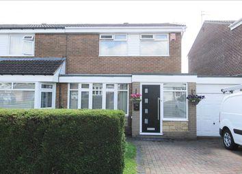 Thumbnail 3 bed semi-detached house for sale in Windburgh Drive, Southfield Lea, Cramlington