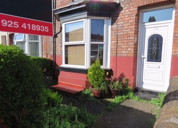 Thumbnail 2 bed terraced house to rent in Wellfield Street, Warrington