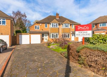 3 bed semi-detached house for sale in Ufton Close, Shirley, Solihull B90